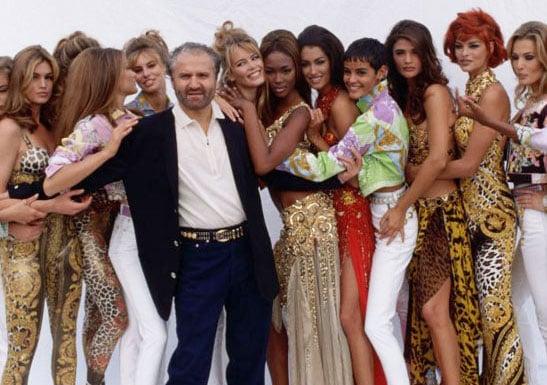Gianni+Versace+Linda+Evangelista+super+models