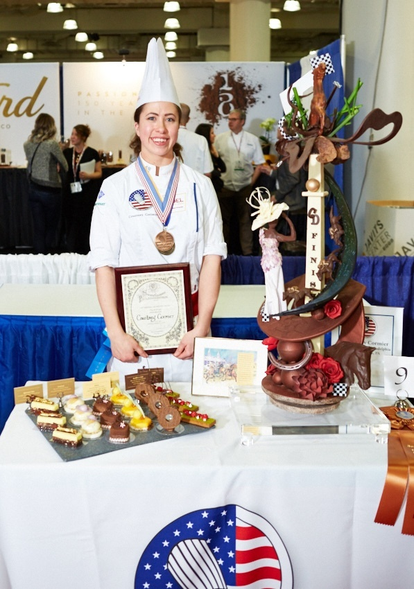 Courtney Courmier 3rd Place Winner 29th U.S. Pastry Competition