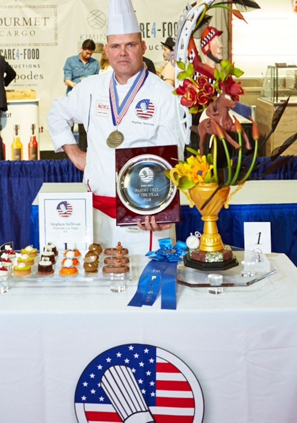 Stephen Sullivan is the U.S. Pastry Competition Pastry Chef of the Year 2018