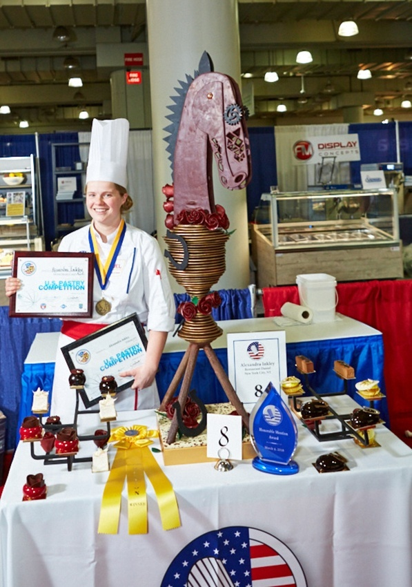 Alexandra Inkley Honorable Mention 29th U.S. Pastry Competition