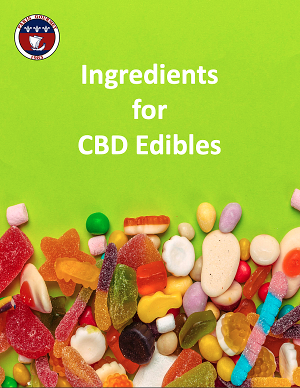 Ingredients for CBD Edibles