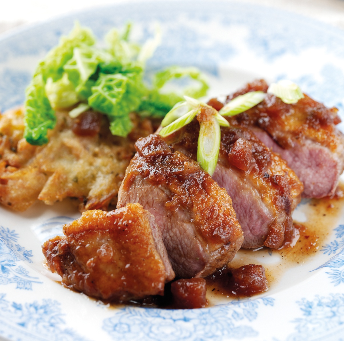 Duck Breasts in Plum Sauce with Tracklements Plum Chutney_1.jpg