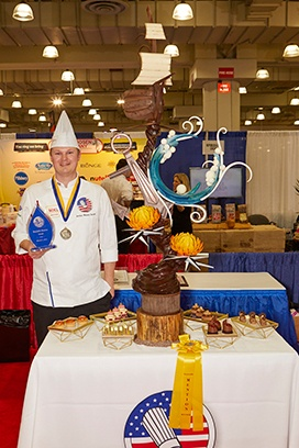 John Weston Snider Honorable Mention 28th U.s. Pastry Competition