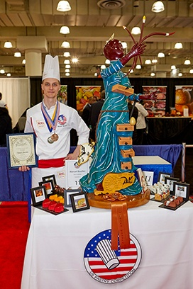 Manuel Bouillet 3rd Place Winner 28th U.S. Pastry Competition